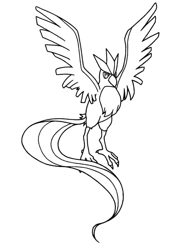 600x809 Legendary Pokemon Coloring Pages