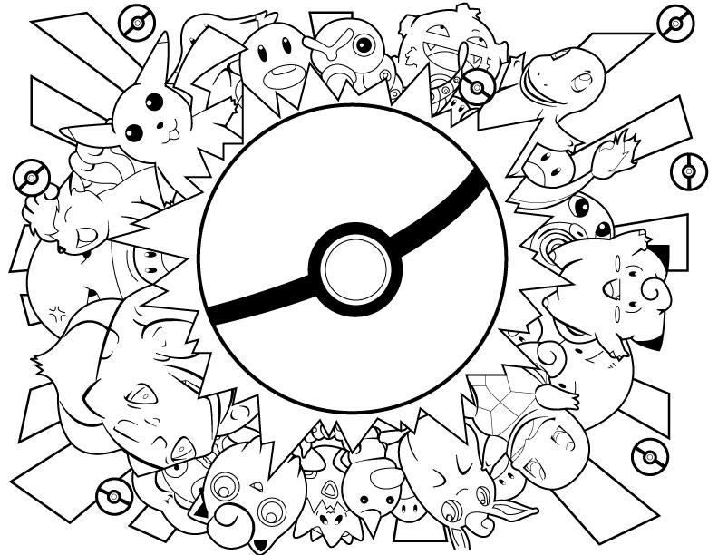792x612 Pokemon Lineart By Nightxkitten Lineart Pokemon (Detailed