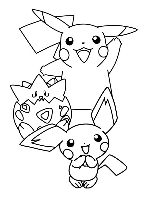 Pokemon Pikachu Drawing at GetDrawings