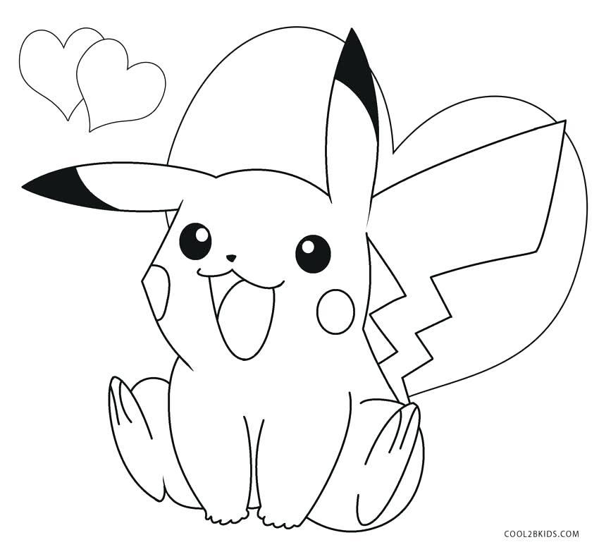 Pokemon Pikachu Drawing at GetDrawings | Free download