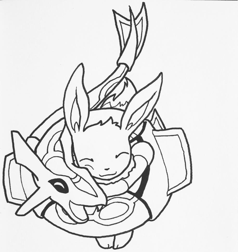 Pokemon Rayquaza Drawing