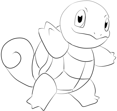 Pokemon Squirtle Drawing at GetDrawings.com | Free for personal use ...