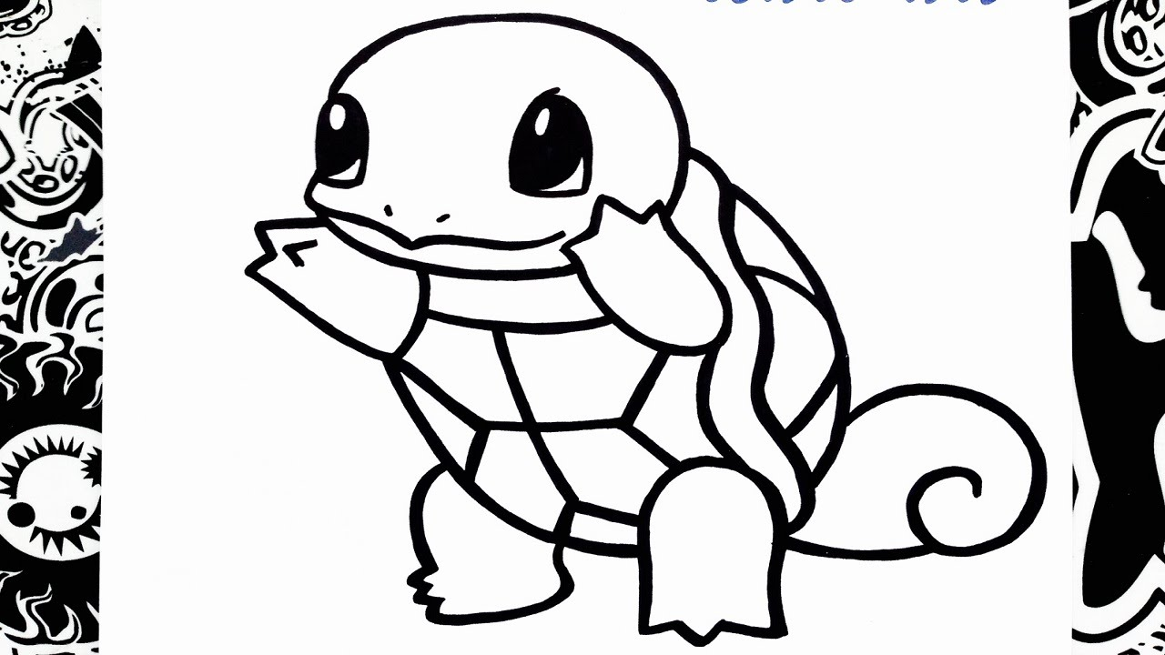 Pokemon Ausmalbilder Schiggy : Pokemon Squirtle Drawing At Getdrawings Com Free For Personal Use