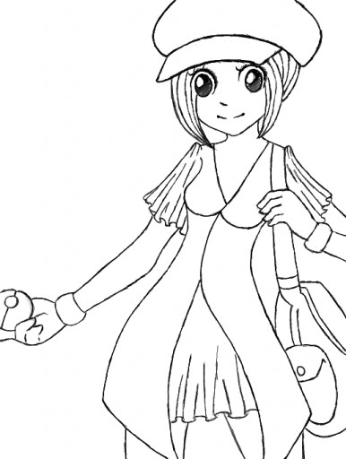 386x512 Pokemon 30 Day Drawing Challenge Day 1 Trainer Me By