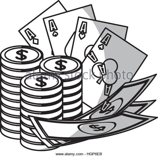 544x540 Poker Cards Icon Over White Stock Photos Amp Poker Cards Icon Over