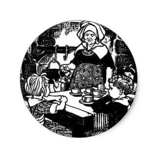 324x324 Vintage Cooking Illustration Stickers Zazzle