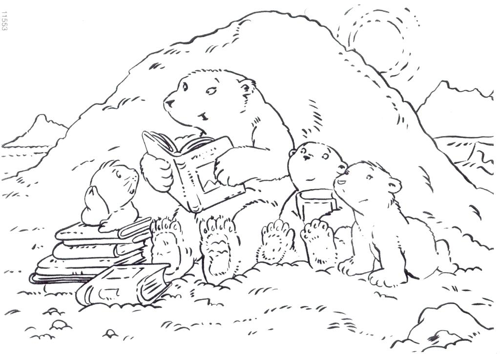 1024x726 Polar Bear Coloring Page Best Coloring Pages