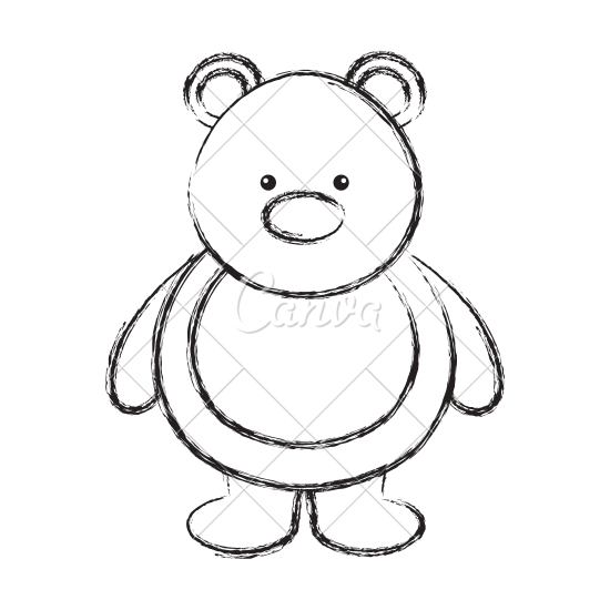 550x550 Polar Bear Cute Character