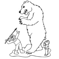 230x230 Top 10 Free Printable Polar Bear Coloring Pages Online