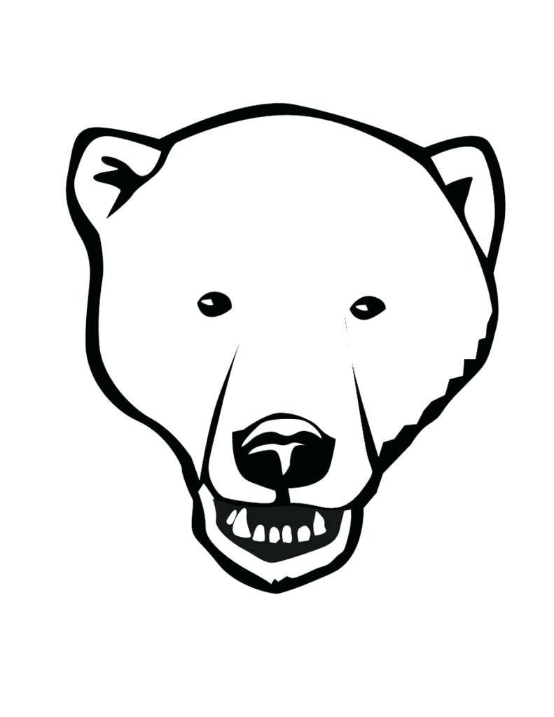 791x1023 Coloring Polar Bear Coloring Sheet Printable Size Click Here