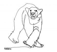 222x200 Artist Kal Barteski Raising Support For Non Invasive Polar Bear