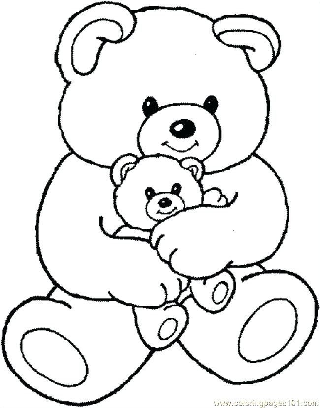 650x828 Bear Coloring Book Plus Cute Bear Coloring Pages 97