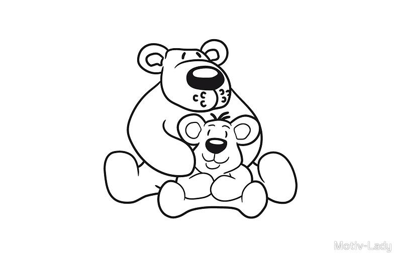 800x522 Papa Mama Child Family Son Daughter Team Polar Bear Sitting Sweet