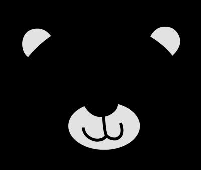 400x339 Ideal Bear Head Clipart