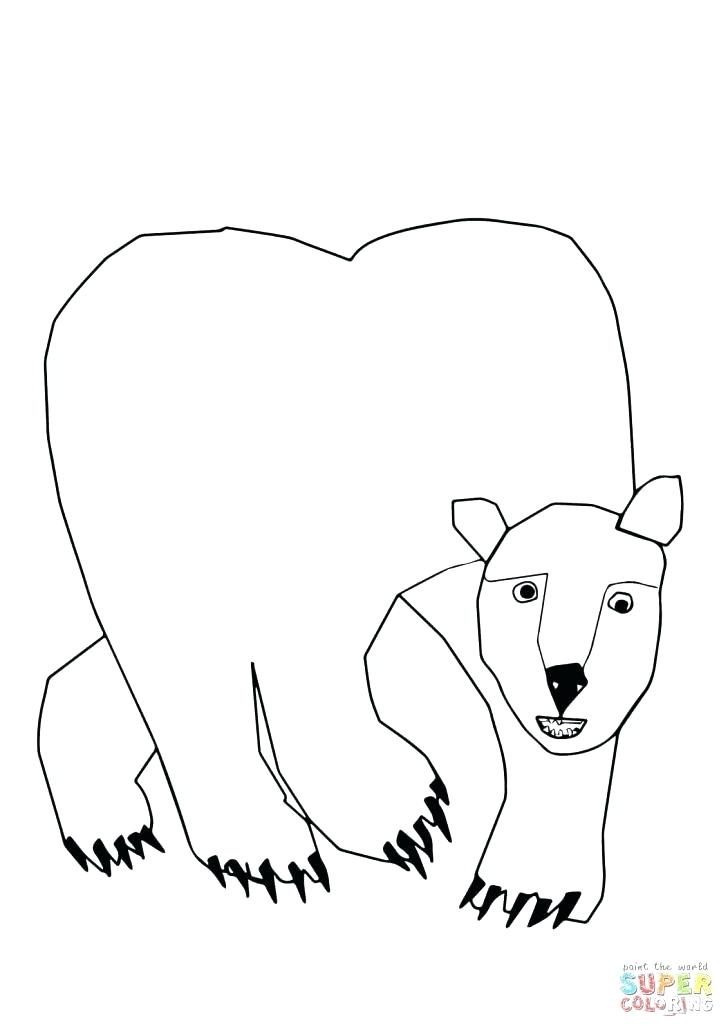 728x1030 Polar Bear Coloring Book Coloring Page Bear Polar Bear What Do You