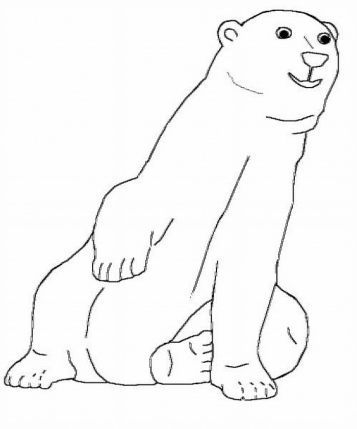 700x841 Polar Bear Pictures To Print Many Interesting Cliparts