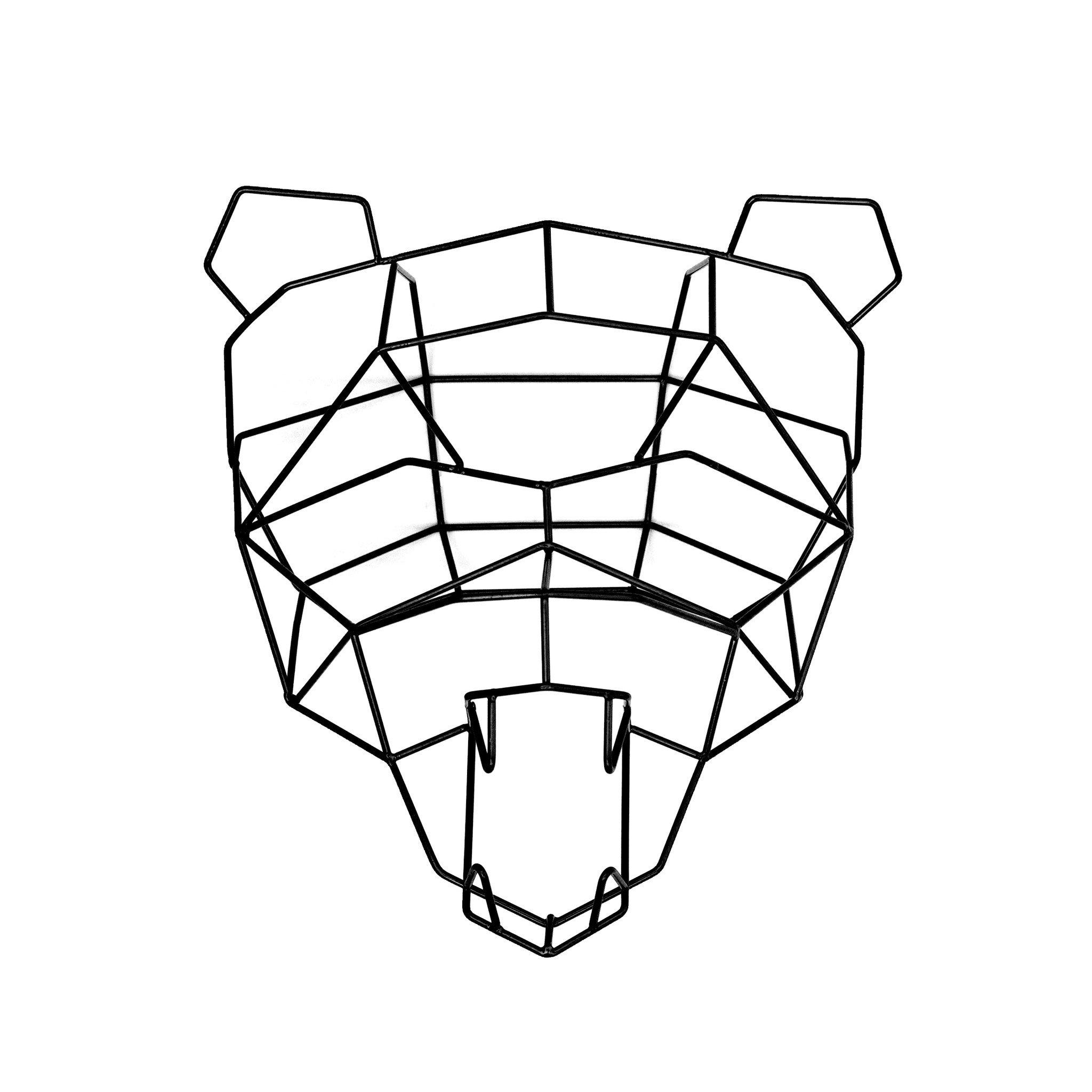 2048x2048 Polar Bear Trophy Head Woonwinkel