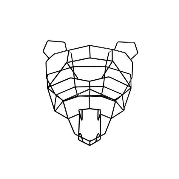 600x600 Bend Polar Bear Geometric Animal Trophy Head Vertigo Home