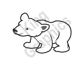 340x270 Polar Bear Design Etsy