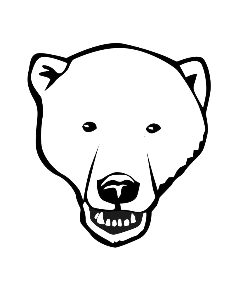 791x1023 Printable Polar Bear Coloring Pages Coloring Me