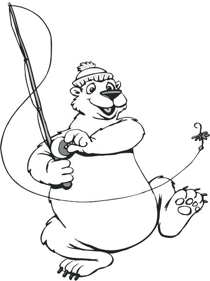 432x579 Coloring Pages Of Polar Bears Free Outline Pictures For Coloring