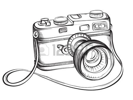 Polaroid Camera Drawing