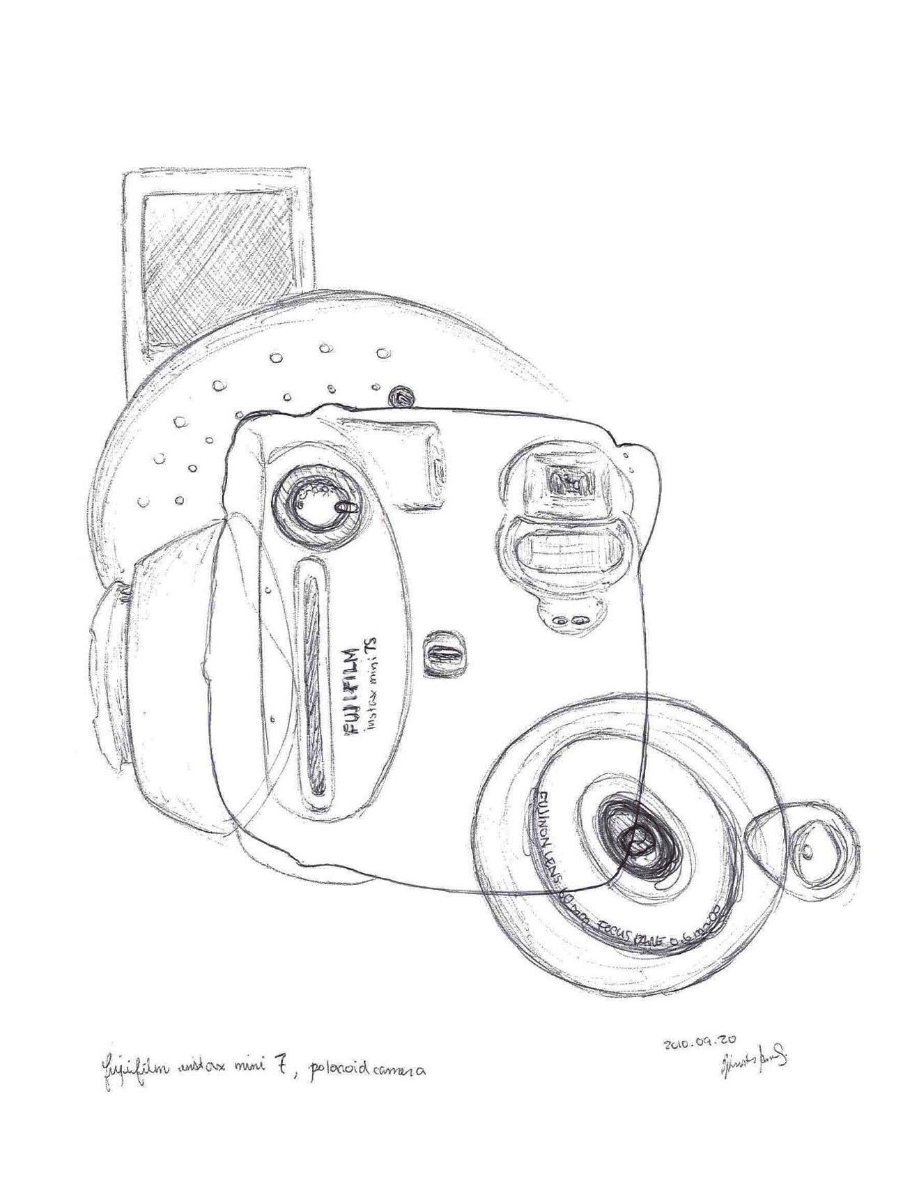 1296x1728 Abstract Fujifilm Mini 7s Polaroid Camera Kristi Ann's Portfolio