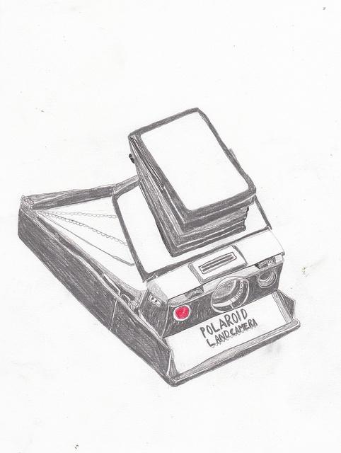 Polaroid Drawing