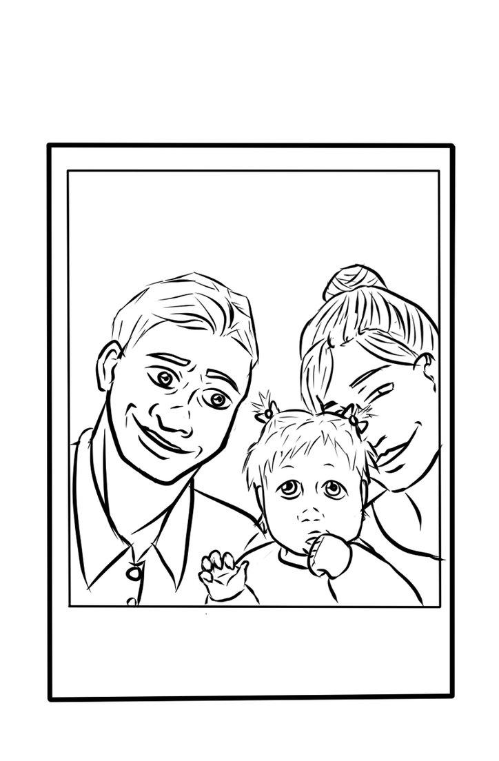 724x1104 Family Polaroid By Joyousinsomnia