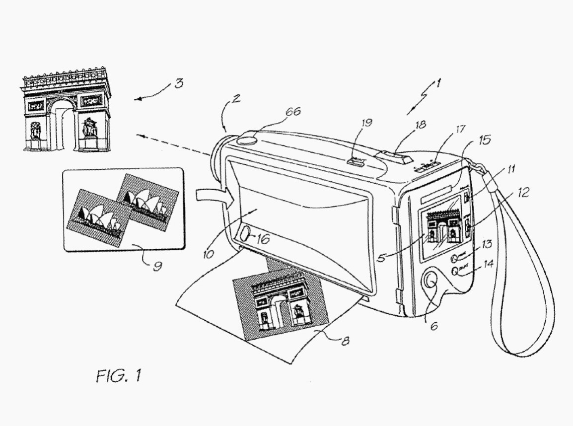 1154x858 Google Just Got A Patent For A Modern Polaroid Quartz