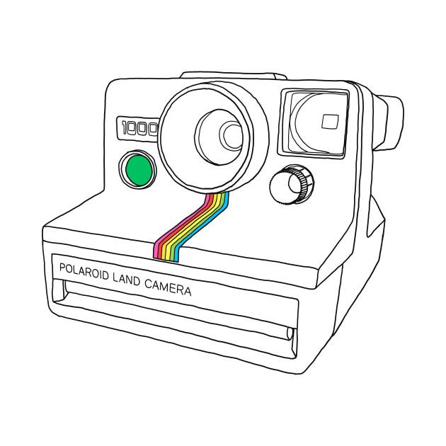 630x630 Vintage Instant Camera