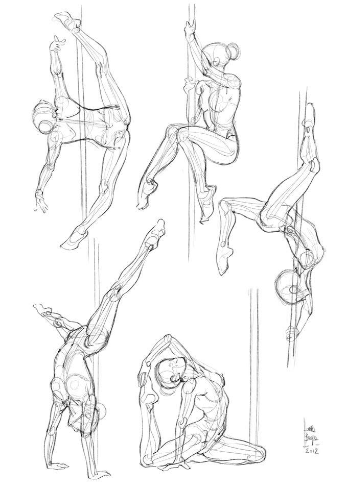679x960 Poll Dancing Poses Dancing, Drawings And Body Drawing