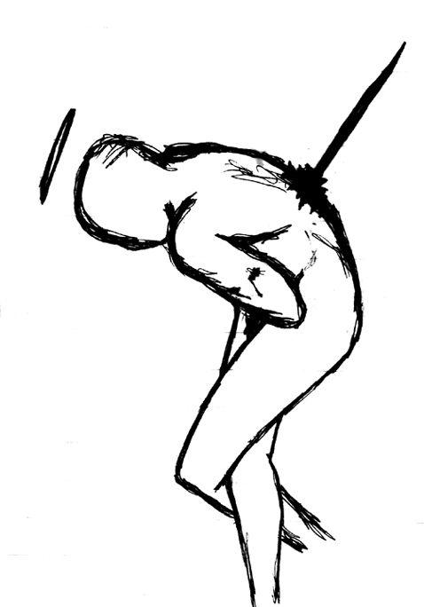 478x684 Seppuku Drawing