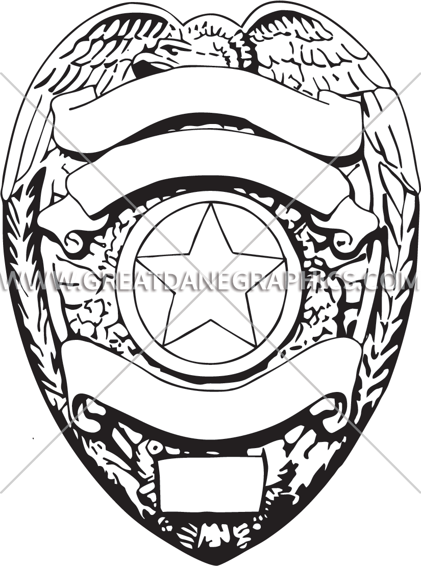 Police Badge Drawing at GetDrawings com | Free for personal