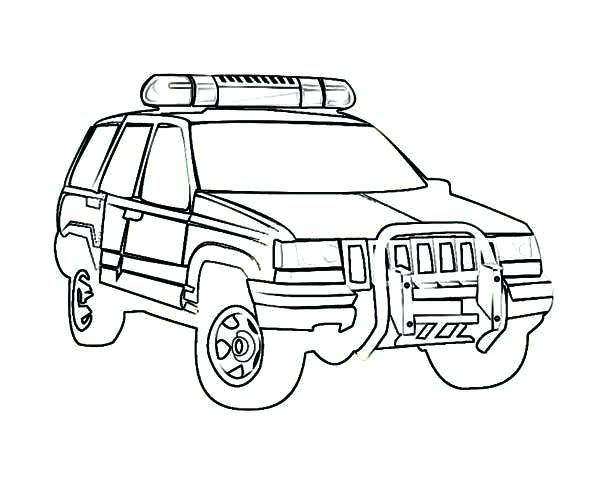 600x480 Police Car Coloring Page Police Car Coloring Page Police Car