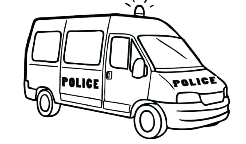 Police Car Line Drawing at GetDrawings