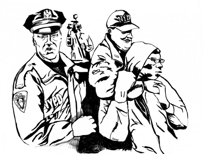 680x518 Police Brutality Coloring Book