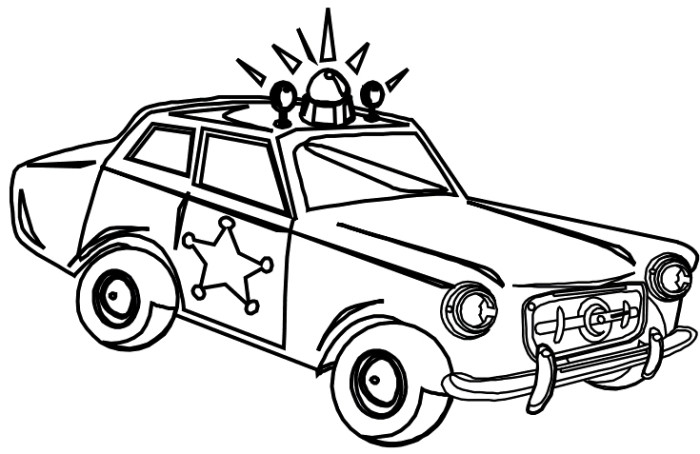 700x454 Sheriff Police Car Coloring Page Coloring Page