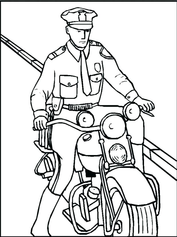 618x824 Coloring Pages Police Drawing Of Police Car Coloring Page Coloring
