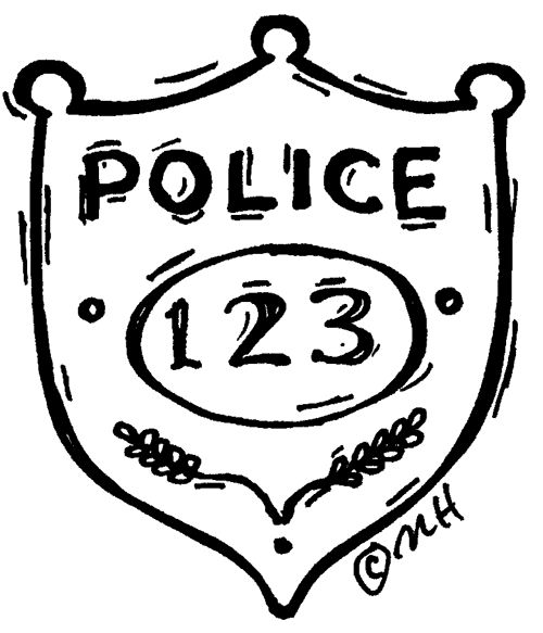 500x583 24 Best Police Cake Images On Police Officer Badge
