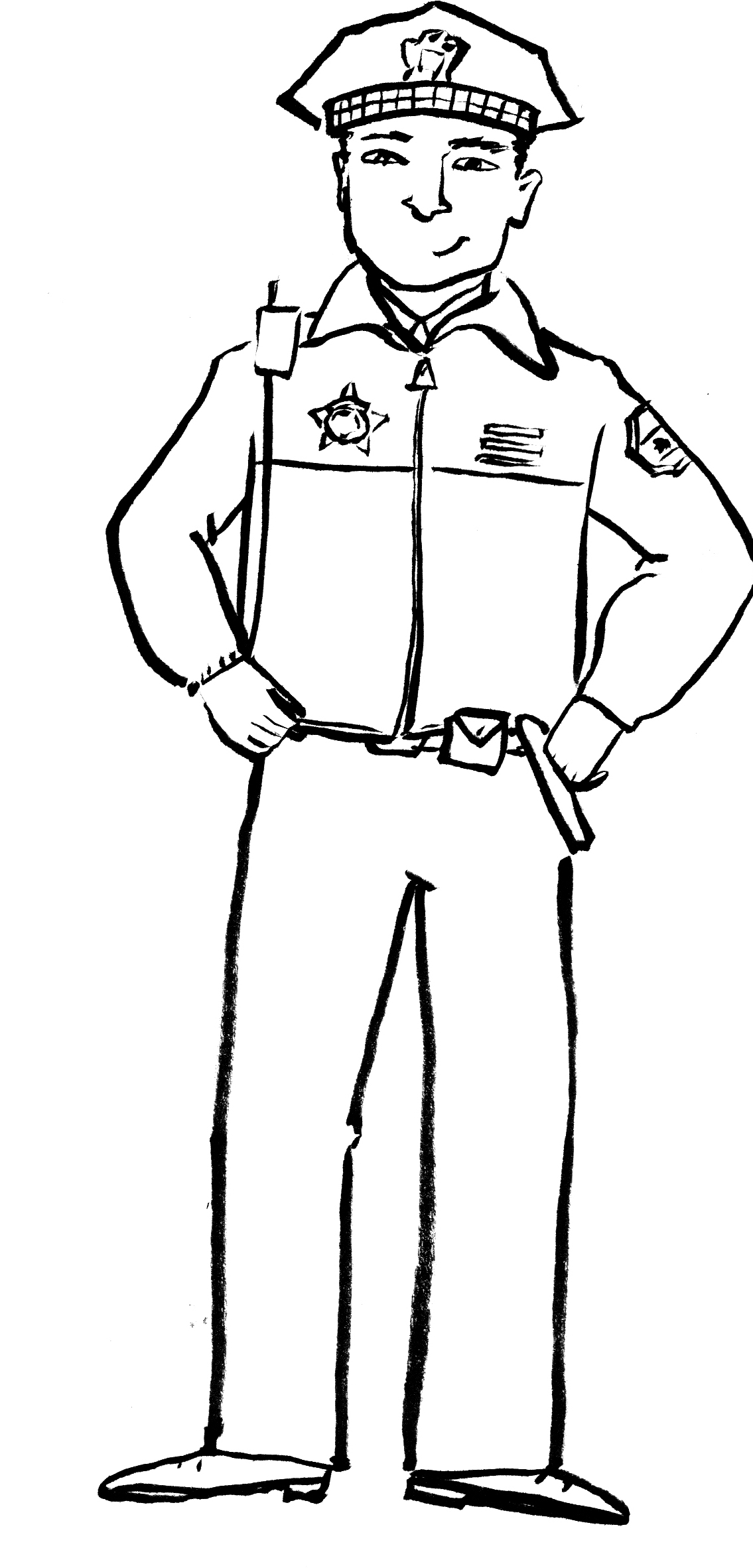 1135x2364 Bargain Police Officer Coloring Pages Top Des 4505 Unknown