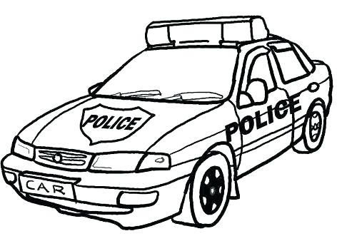 472x338 Policeman Coloring Page