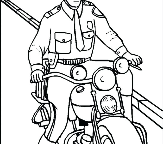 678x600 Policeman Coloring Page Policeman Coloring Pages Coloring Pages