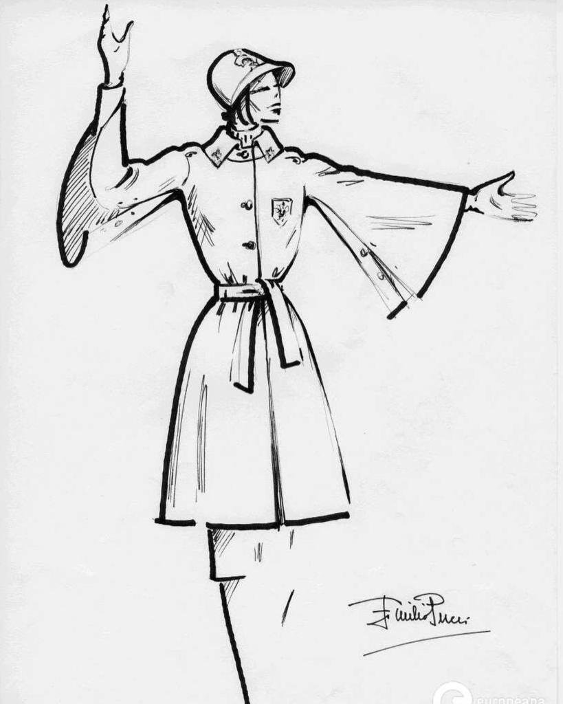 819x1024 Europeana Fashion On Twitter Municipal Police Uniform. Sketch By
