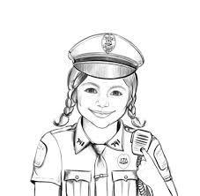Policeman Drawing