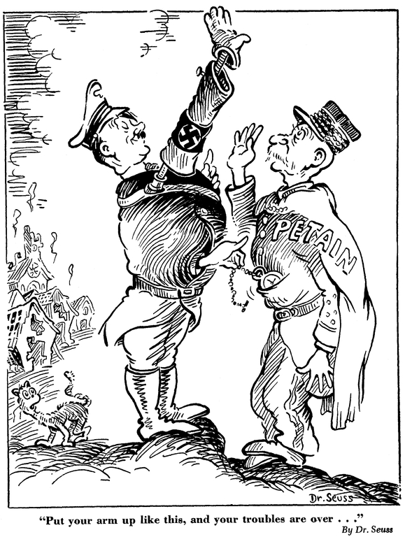 579x768 Dr. Seuss's Political Cartoons Are On Show And Are Eerily