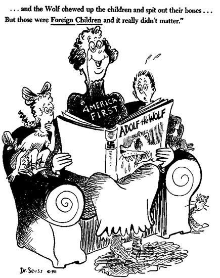435x550 8 Of Dr. Seuss's Best Political Cartoons