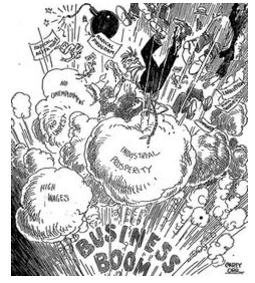 508x564 Political Cartoons On Race In The 1920's Cartoons