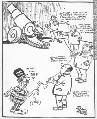 314x385 M965.199.6700 The War On Pollution. Drawing, Cartoon John