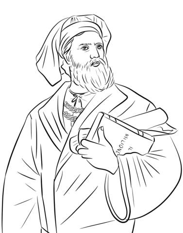 377x480 Marco Polo Coloring Page Free Printable Coloring Pages